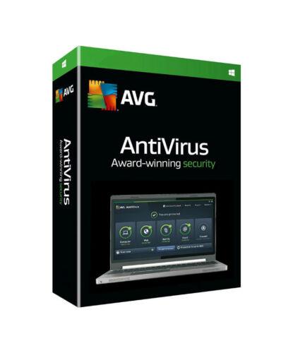CD Global 1 PC // 2-Year AVG AntiVirus