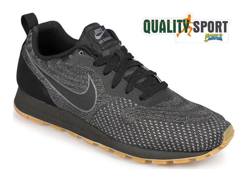 Nike MD Runner Schuhes 2 ENG Nero Schuhe Schuhes Runner Uomo Sportive Sneakers 916774 010 2018 bd5b8a