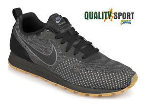 62d0e565c537 Caricamento dell'immagine in corso Nike-MD-Runner-2-ENG-Nero-Scarpe-Shoes-