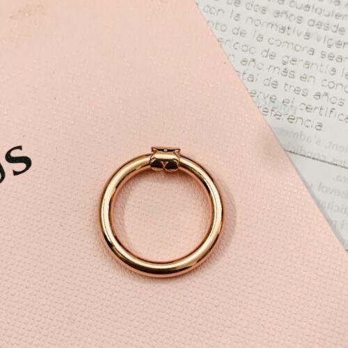 812344600 Authentic Brand New Tous Vermeil Hold Medium Ring Pendant