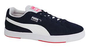 Puma U106 18 Up blu scuro ginnastica da Suede 356414 Mens S Lace scarpe OqTFO