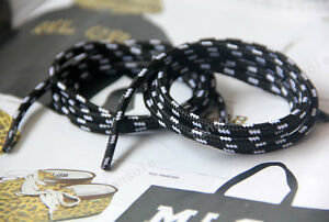 new york f5ca6 2e07d Image is loading 90cm-Black-Red-Green-Rope-Shoelaces-Shoe-Laces-