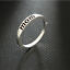 New Mom Mother Father Silver Finger Rings Holiday Gifts Love Jewelry Size 6-10