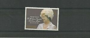 mnh Cleaning The Oral Cavity. Ascension Island sg269-80th Bday Of Queen Mother