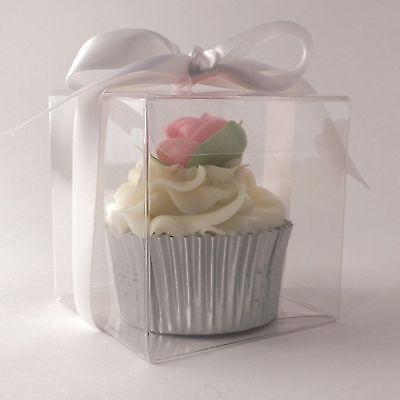 Cancella Scatole Per Cupcake Singolo: 70mm | 7cm: Qualità Premium: 1 | 10 | 50 | 100 | 150- Materiali Di Alta Qualità