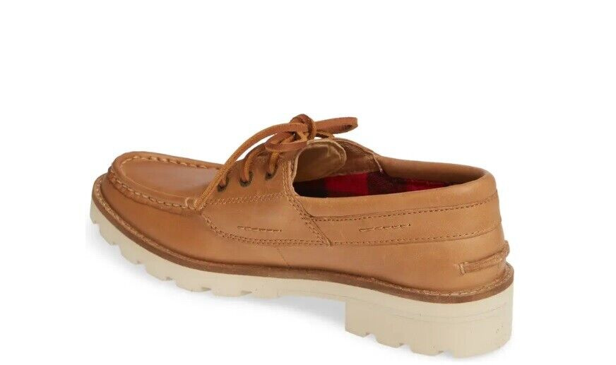 SPERRY TOP SIDER STS84394 WOMEN'S AUTHENTIC ORIGINAL LUG LEATHER BOAT SHOE TAN