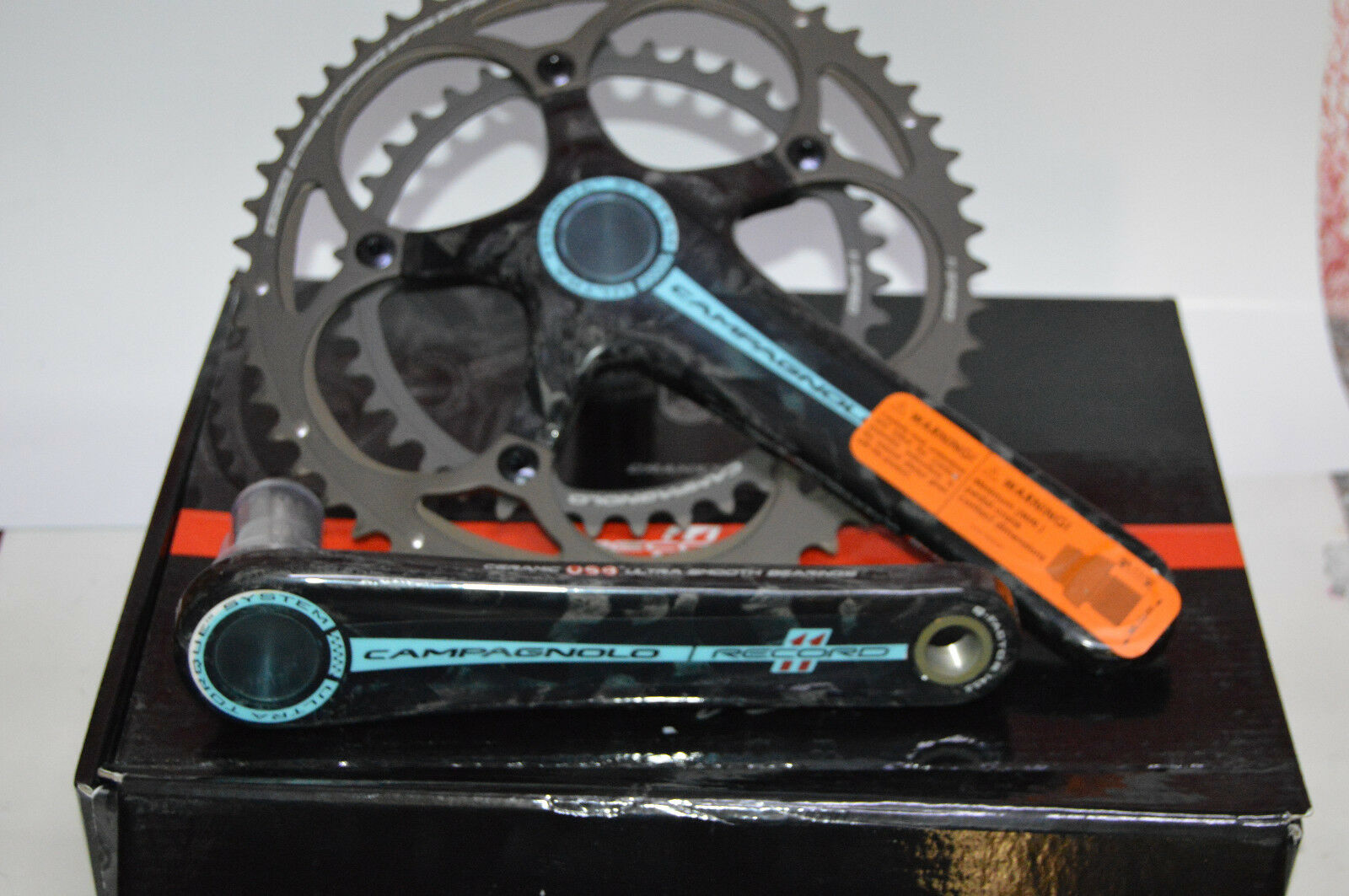 Campagnolo Record Ultra Torque System xpss Crankset 53 39 172,5mm Nuovo Offerta