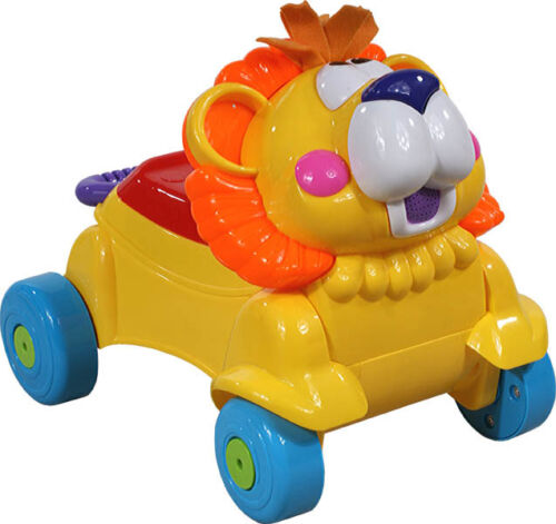 Lion Slip Car Ride On Car Slip 2-function Walker and gehfrei OVP