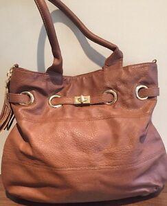 642343513c Brand New Aldo Hand Bag Brown Shoulder Bag Tassel Detail | eBay