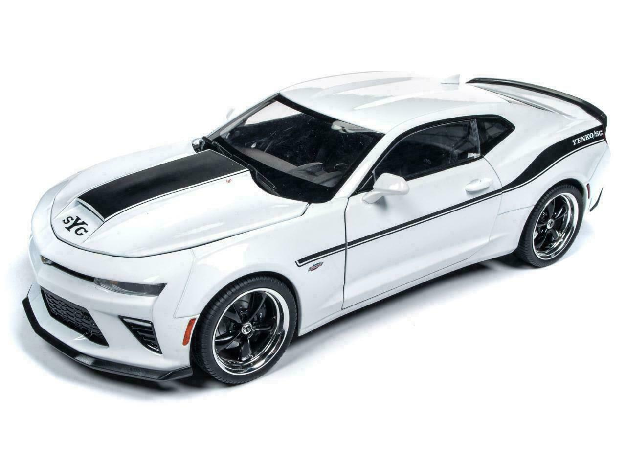 Auto World 1 18 Muscle Cars U.S.A. 2018 Yenko Stage II Chevrolet Camaro Diecast