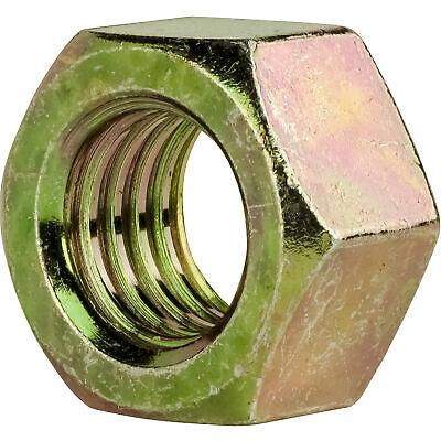 "70 Hex Nut Zinc Plated 3//8/"" UNF Qty"