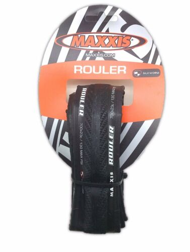 Maxxis Rouler 700x23C Road Bike Folding Black Tire 120 TPI