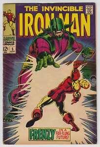 L9627-Iron-Man-5-Vol-1-VG-VG-Estado