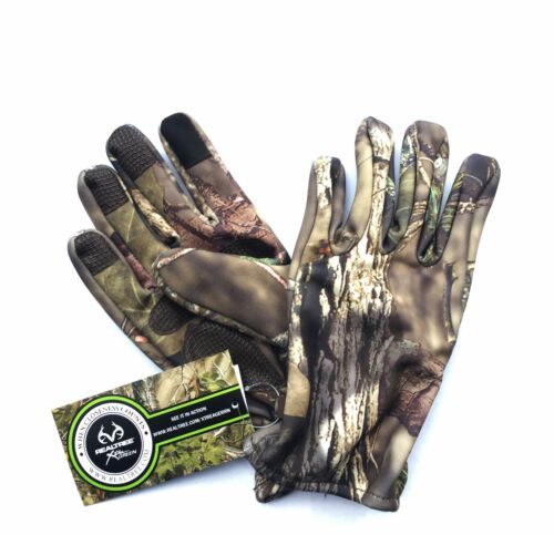 Xl Remington Lightweight Thick Hunting Gloves W//touchscreen Finger Grip Palm