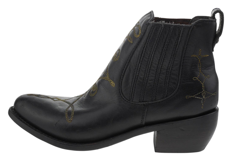 502945-380 Liberty Black Gemma lbf811123e Leder Stiefeletten black EUR 38