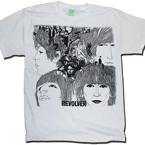 The-Beatles-T-Shirt-Revolver-100-Official-John-Lennon-Paul-McCartney