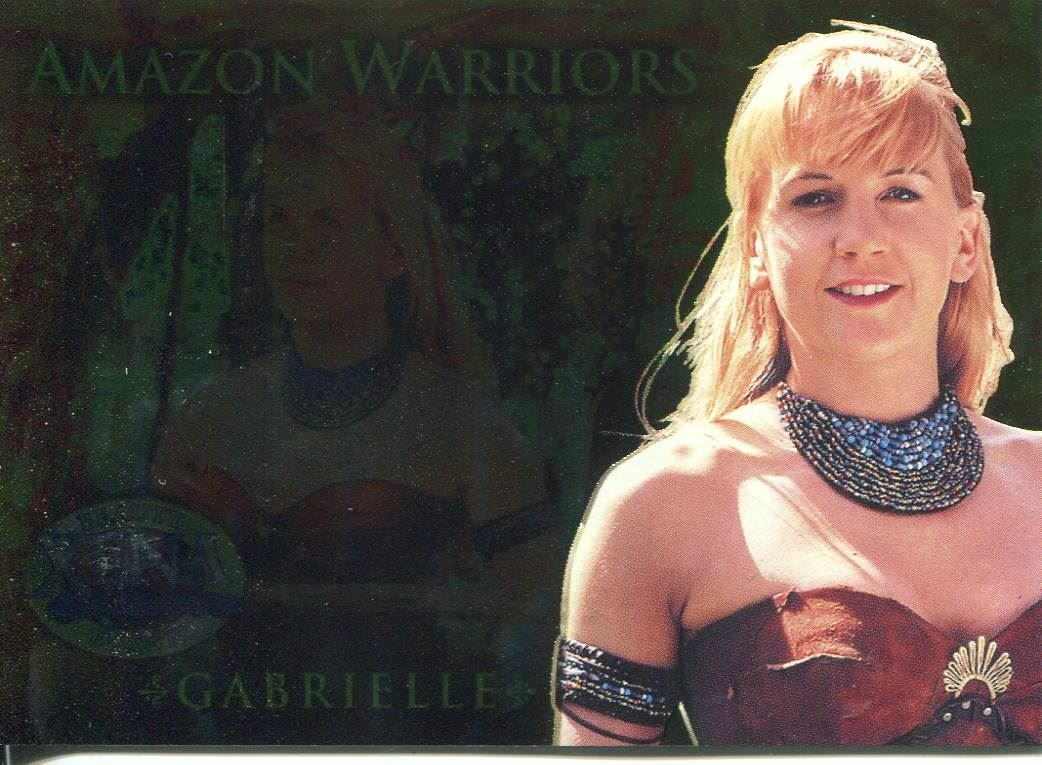 Amazon Warriors Fotos xena beauty and brawn amazon warriors chase card aw5