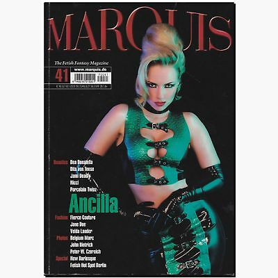 Marquis 41 2007 Fetish Magazin Lack Latex Gummi BDSM EROTIK MODE Peter Czernich