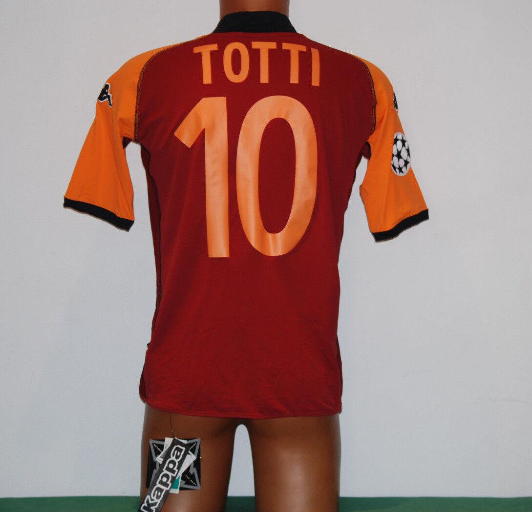 Maglia Roma Totti 2002 2003 2003 2003 Uefa Champions League Jersey NEW kappa away mazda 060c0e