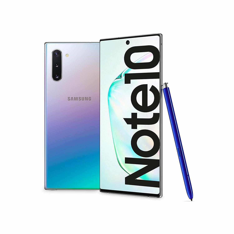 """Samsung Galaxy Note 10 6.3"""" 256GB LTE Doppia SIM Glow Aura Silver"""