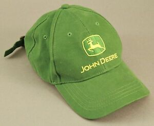9535d3ba36608 John Deere Baseball Hat Cap Green Trucker Buckle Adjustable Cary ...