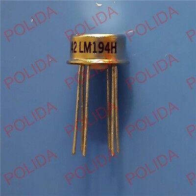 1PCS Mil Spec Supermatch Pair Precision Transistors IC NSC TO-99 LM194H CAN-6