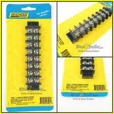 TERMINAL BLOCK 8 GANG 13581 ELECTRICAL MARINE BOAT PARTS BOATINGMALL  30A