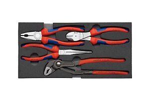 Knipex Zangen-Set /'/'KFZ/'/' in Schaumstoffeinlage Zangen-Sets
