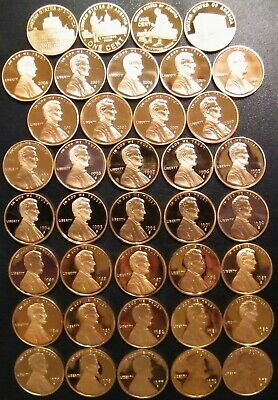 1985 P /& D Lincoln Cents Choice//Gem Bu from mint sets