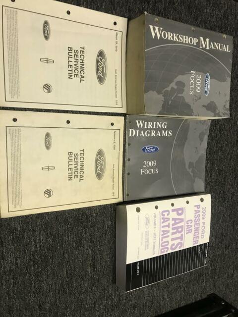 2009 Ford Focus Service Repair Shop Manual Set W Wiring
