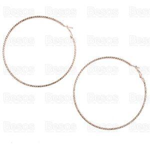 90mm-HOOPS-large-earrings-STATEMENT-oversize-pattern-hoop-GOLD-SILVER-FASHION