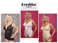 Berdita Bodyshaping Panty Corselet Shapewear With Zip 96405 Black White Or Beige