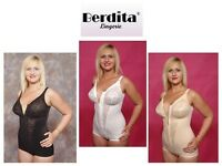 Berdita Bodyshaping Panty Corselet Shapewear With Zip 96405 Black White Or Beige