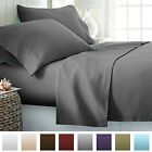 Egyptian Comfort 2100 Count Hotel Quality 4 Piece Deep Pocket Bed Sheet Set