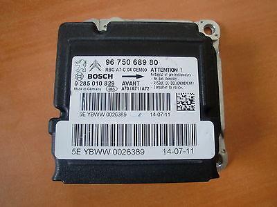 calculateur d'airbag neuf et vierge de peugeot  bosch 0285010829 (ref 0965)