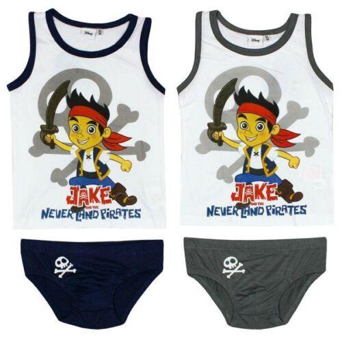 Hemd Gr 92-122 Disney Jake /& die Nimmerland Piraten Unterwäsche Set Slip