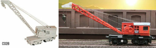 Dapol C028 15T Diesel Crane Plastic Kit OO Gauge