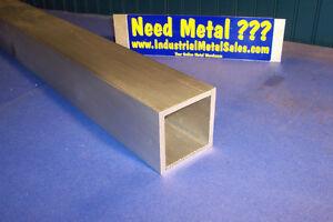 "1/"" Aluminum Round Tube 6061 T6511 .250/"" wall x 24/"""