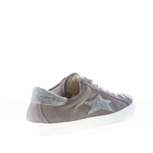 Italy Homme 1216 Made Ishikawa Chaussures Grey Felt In Sneaker With Suede Low xeoCBrd