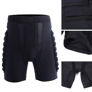 Motorcycle Protection Skiing Motocross Padded Pants Gears Hip Bum Armour Shorts
