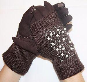damen stulpen touchscreen handschuhe 3 in 1 tablet. Black Bedroom Furniture Sets. Home Design Ideas