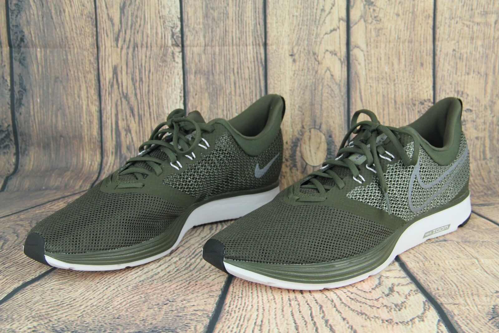 28a25cdbbe527 ... Nike Zoom Strike Men Running shoes Cargo Khaki Khaki Khaki Green Grey  White AJ0189-300 ...