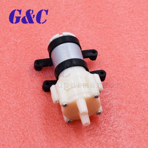 R385 Pump/&base Aquarium Fish Tank Water Diaphragm Pump 1.5-2L//Min DC12V