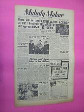 MELODY MAKER. JULY 22nd 1950. JAZZ & SWING etc. MUSIC MAGAZINE. VINTAGE MAG