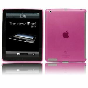 Rosa-Suave-Resistente-Smart-Funda-Gel-Compatible-con-para-Apple-Ipad-2-3