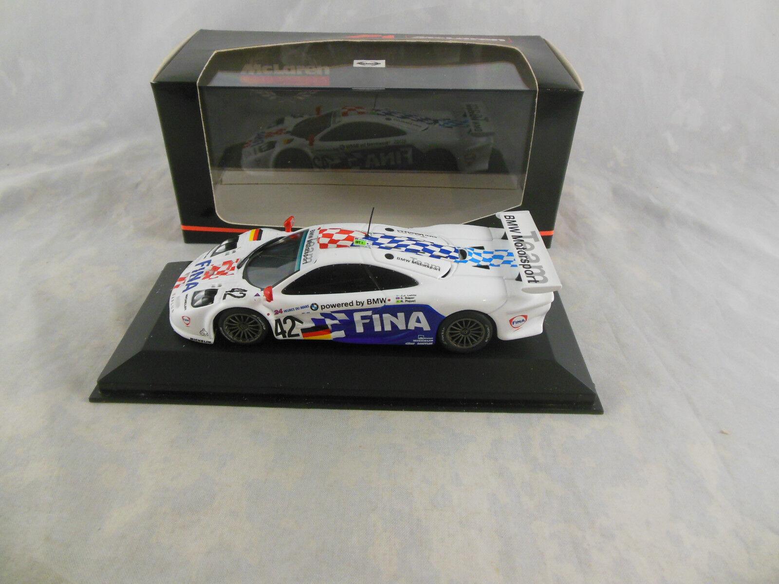 Minichamps 530 174342 McLaren F1 GTR  Le Mans 1997 Team BMW Motorsport