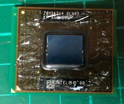 650MHz Pentium pin SL442 PGA2 495 Mobile micro PROCESSORE CPU 3 INTEL dZITw8T