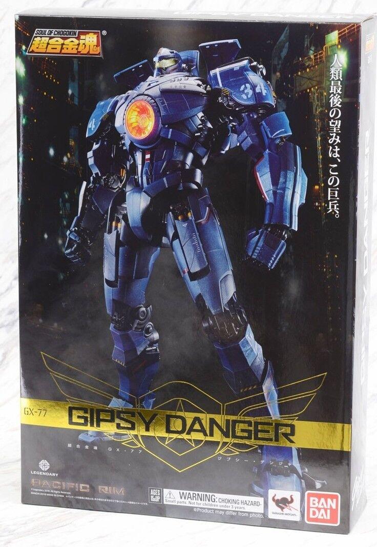 Gx-77 Pacific Rim Gipsy Gipsy Gipsy Danger Bandai Tamashii Soul of Chogokin Soc Robot Figure 983388