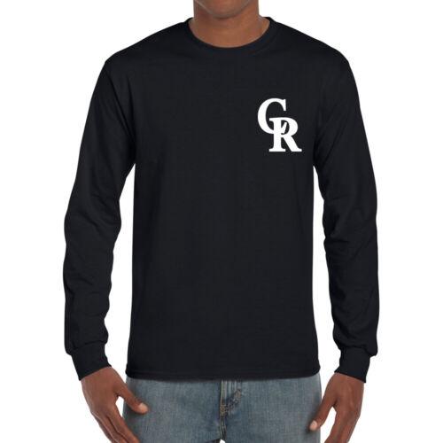 GD2400 Colorado Long Sleeve T-Shirts Baseball Team Sports Tee 0101