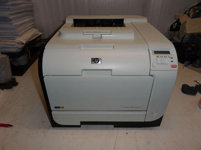 HP Color Laserjet M451dn  Laser Printer *REFURBISHED* Warranty COUNT 3,610